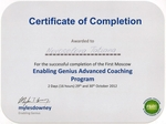 Enabling Genius Advanced Coaching Program